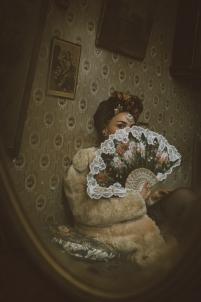 miroir vintage,sexy cabaret