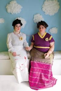 les deux fridas frida kahlo fraternité double lien du sang,handicap Acodège