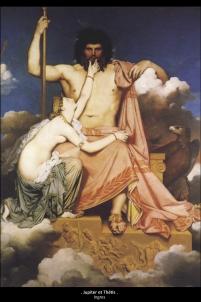 Jupiter et Thétis ingres,handicap Acodège
