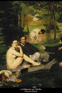 le déjeûner sur l'herbe édouard manet,handicap Acodège