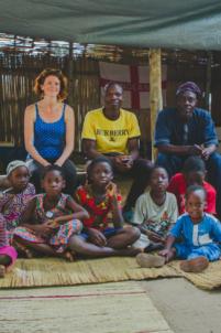 photo de groupe d'orphelins béninois,mission humanitaire