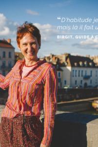 birgit wallborn, guide, châlon sur saône, péniche, saône,happy bourgogne