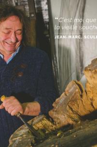 jean-marc tournois, sculpteur, bèze, atelier,happy bourgogne