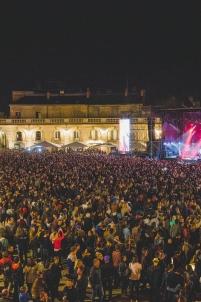 concert de rentrée, foule, musique, plein air, place de la libération,Dijon Bourgogne