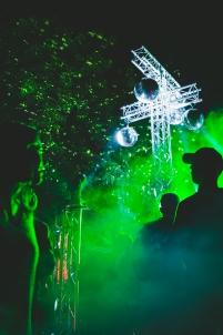 Risk Party, jardins du conseil départemental, risk, électro, fumigène, boule à facettes, jeunesse, soirée,Dijon Bourgogne