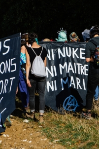 écoféminisme à bure,lutte antinucléaire